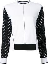 Stella McCartney dot pattern sleeve jumper