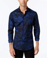 Vince Camuto Men's Camouflage-Print Long-Sleeve Shirt
