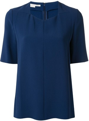 Stella McCartney V-Neck Short-Sleeved Blouse