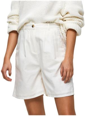 Selected York High Waist Shorts