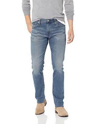 AG Adriano Goldschmied Men's The Matchbox Slim Straight Leg LED Denim Jean