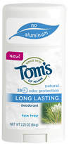 Tom's of Maine Natural Long Lasting Natural Deodorant Tea Tree