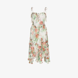 Zimmermann Bellitude floral midi dress