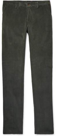 Etro Slim-Fit Cotton-Corduroy Trousers