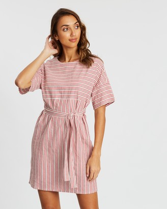 People Tree Christabel Stripe Dress