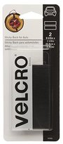 Velcro USA INC CONSUMER PDTS - Industrial Strength Fasteners for Autombiles, Black, 3.5 x 1.5-In. Strips