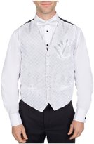 Buy Your Ties Men's Elegant Pattern Formal Vest Bow Tie and Hanky Set