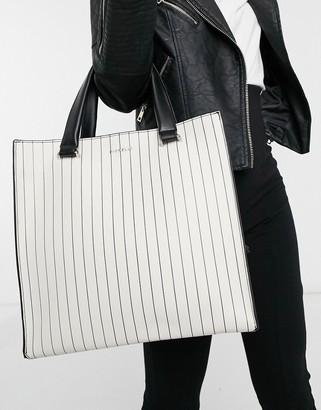 Fiorelli Rocksteady tote bag in stripe mix