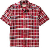 Tommy Bahama Short-Sleeve Manoa Madras Plaid Woven Shirt