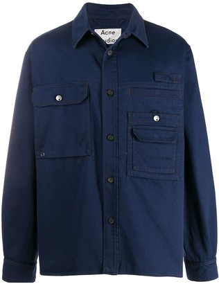 Acne Studios Cotton Twill Overshirt