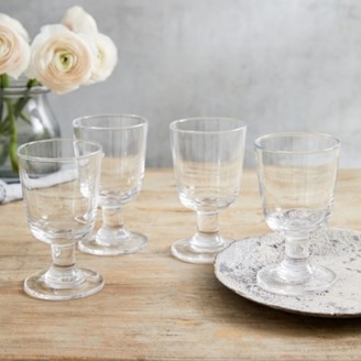 The White Company Orford Large Wine Glass Set of 4, Clear, One Size