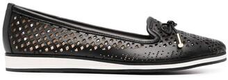 Baldinini Donna perforated ballerina shoes