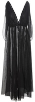 Three Graces London Nikiya cotton-voile maxi dress