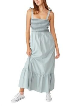 Cotton On Woven Shae Shirred Maxi Dress