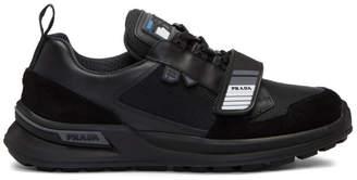 Prada Black Mechano Sneakers