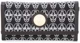 Thomas Wylde skulls envelope clutch