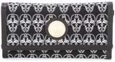 Thomas Wylde skulls envelope clutch