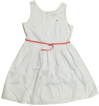 Tommy Hilfiger White Lace Dress for Women