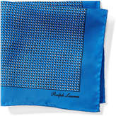 Ralph Lauren Diamond Silk Pocket Square