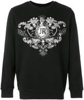 John Richmond chest print sweatshirt