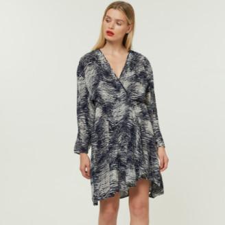 Jovonna London Sabe Micro Pleated Dress - Large