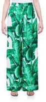 Dolce & Gabbana Silk Twill Pajama Pants