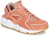 Nike HUARACHE RUN PREMIUM W women's Shoes (Trainers) in Pink