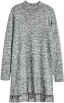 H&M Knit Tunic - Gray melange - Ladies