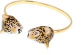 Nach Face To Face Porcelain Leopard Bracelet