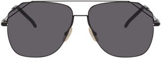 Fendi Black Aviator Sunglasses