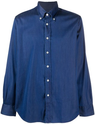 Canali Button-Down Chambray Shirt