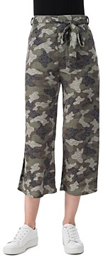 B Collection by Bobeau Doris Cropped Printed Pants