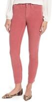 NYDJ Women's Alina Frayed Stretch Corduroy Ankle Jeans