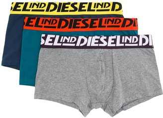 Diesel Three-Pack Boxer Set