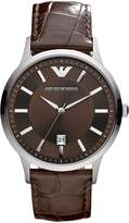 Emporio Armani Men's AR2413 Classic Dial and Strap Watch