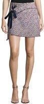 Parker Carrie Tweed Pencil Mini Skirt