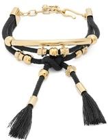 Chloé Otis layered cord bracelet