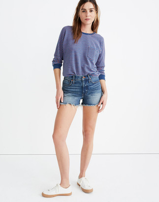 Madewell The Perfect Jean Short in Rayburn: Comfort Stretch Edition
