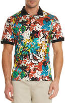 Robert Graham Floral-Print Polo Shirt