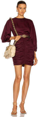 Rhode Resort Sasha Dress in Black Currant | FWRD