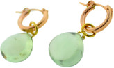 Mabel Chong - Chain And Gem Earrings