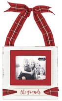 Mud Pie The Grands Tartan Frame Ornament