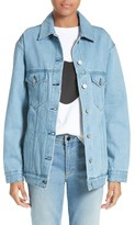 Women's Etre Cecile L'Avenue Des Stars Embroidered Denim Jacket