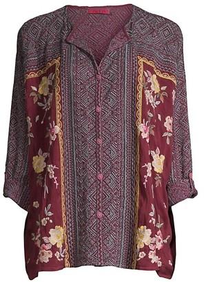 Johnny Was Rumi Printed Shirt