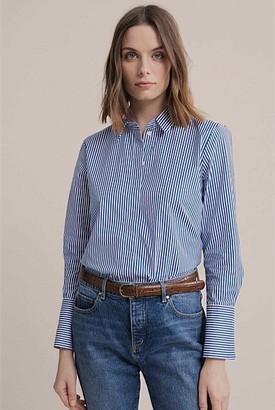 Witchery Stripe Cotton Shirt
