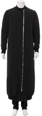Thamanyah Longline Zip-Front Coat w/ Tags