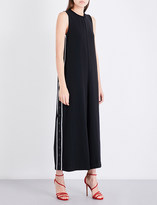 KENDALL + KYLIE KENDALL & KYLIE Popper-detail woven jumpsuit