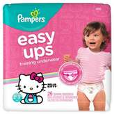 Pampers Easy Ups Size 2-3T 26-Count Girl's Training Underwear