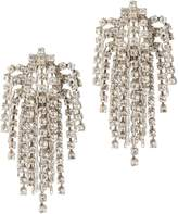 Dannijo Cecile Crystal Earrings Metallic 1SIZE