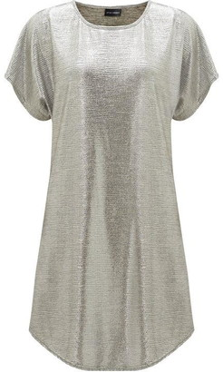 James Lakeland Metallic Tunic Dress